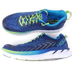 Hoka One One Clifton 4 Running Shoes Sz 11 2E Wide